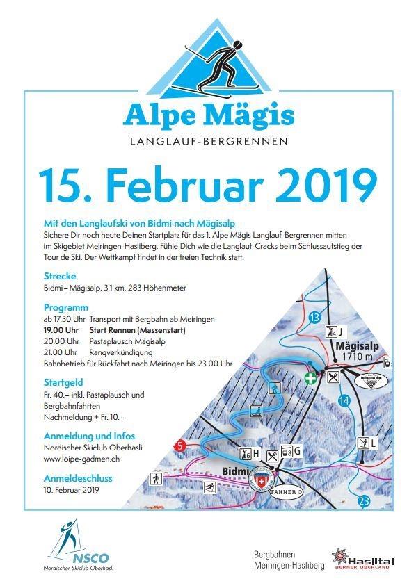 Flyer Alpe Mägis